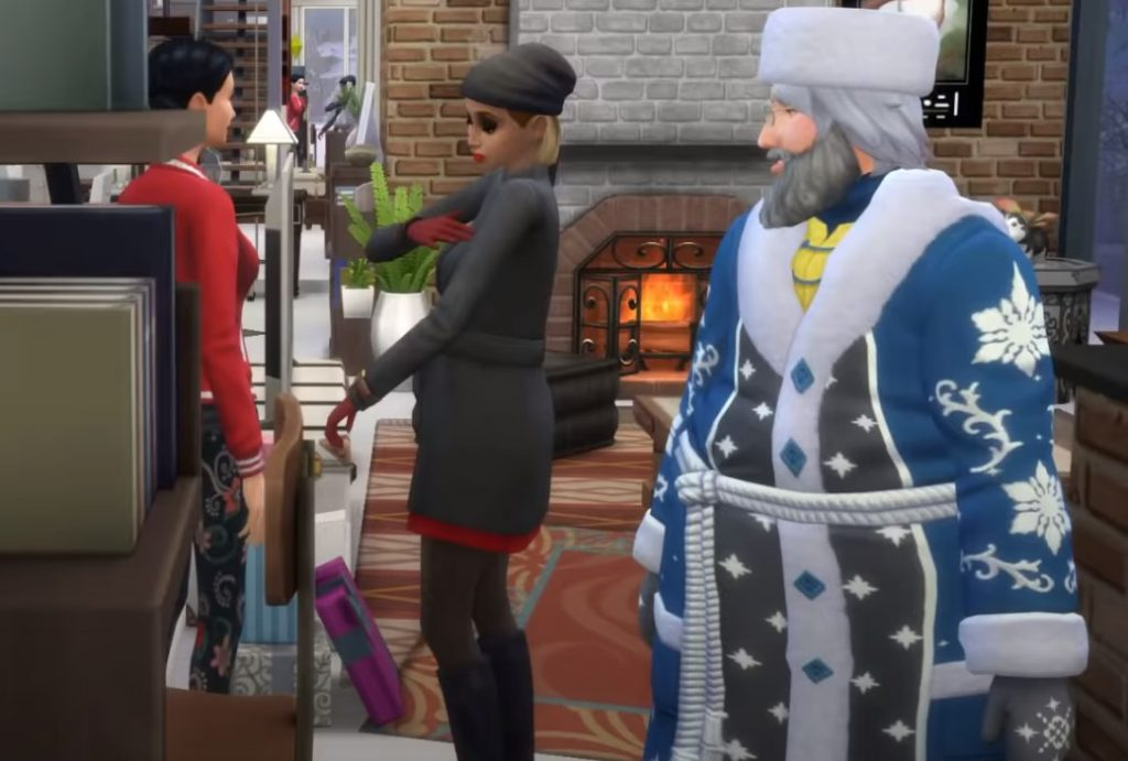 Deda Mraz The Sims 4