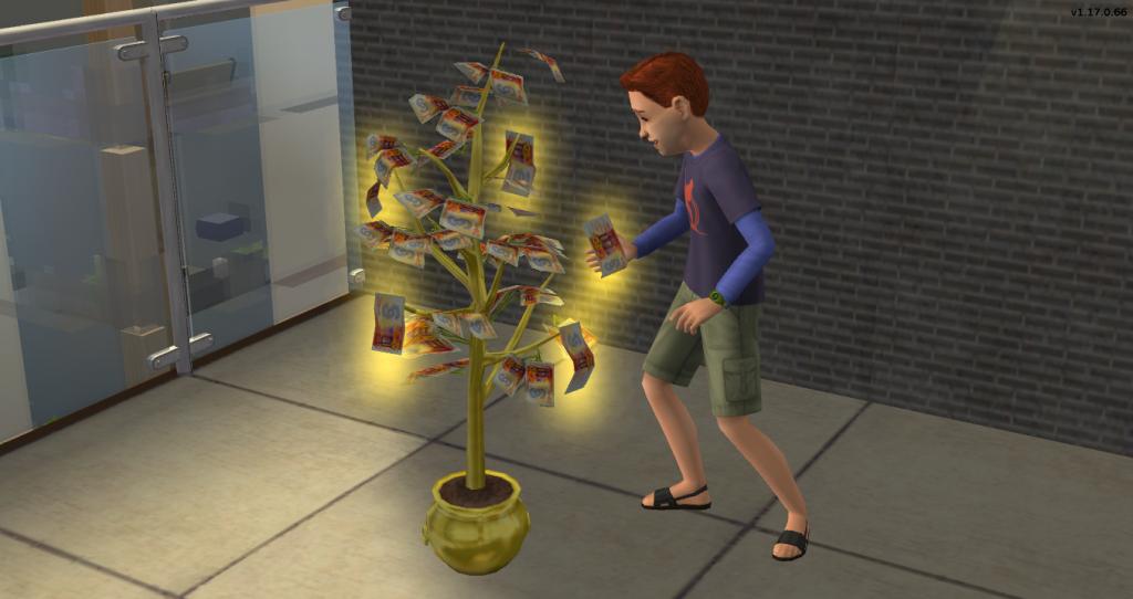 Drvo novca - Money Tree Sims 4; Foto sims.fandom.com