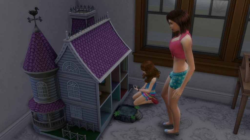 The Sims 4 Doll House