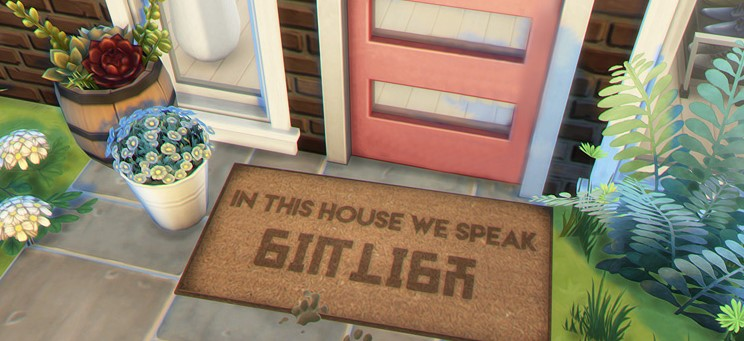The Sims Simlish