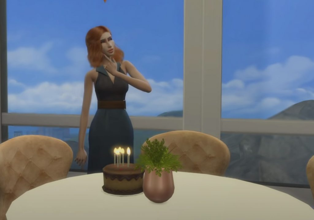 The Sims rodjendan - Age up
